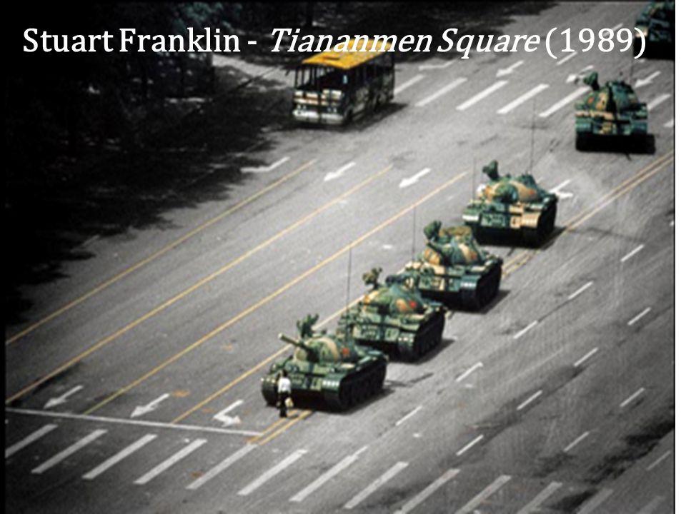 Stuart Franklin - Tiananmen Square (1989)
