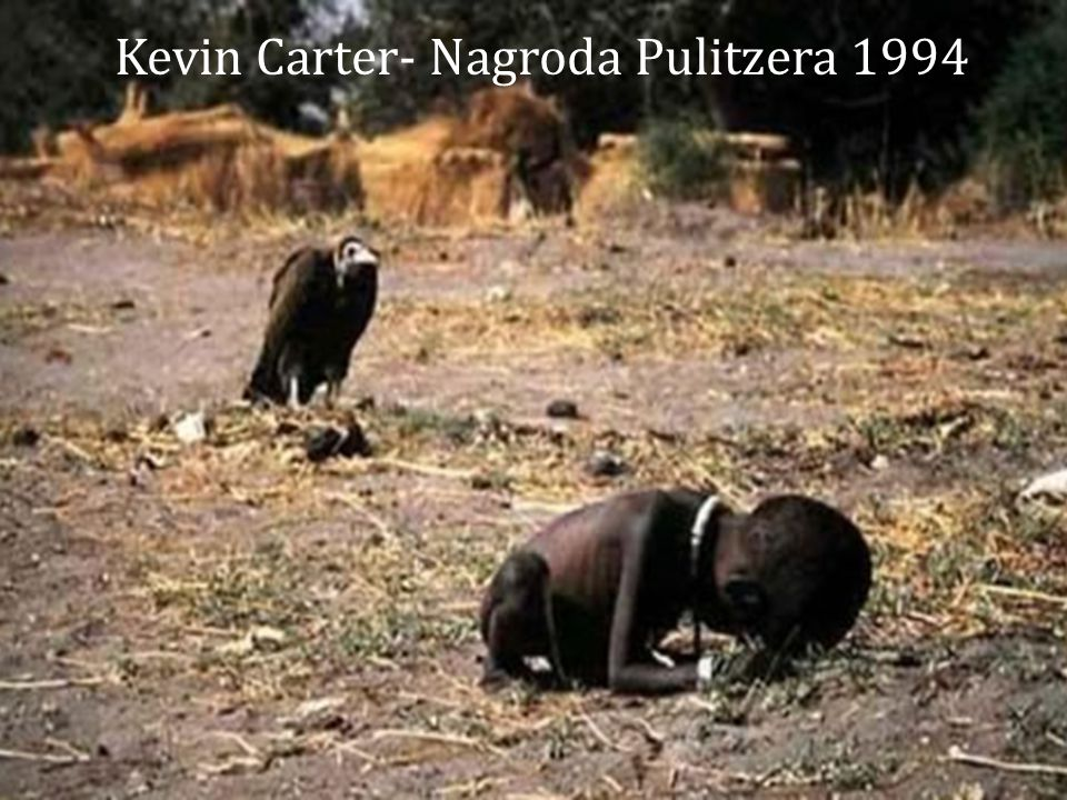 Kevin Carter- Nagroda Pulitzera 1994