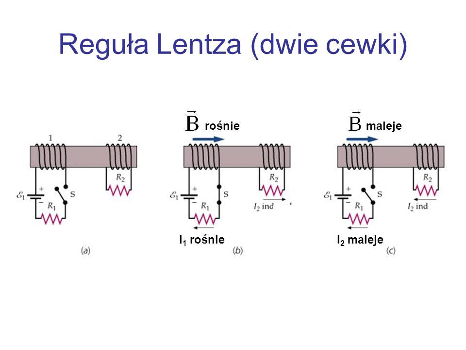 Reguła Lentza (dwie cewki)