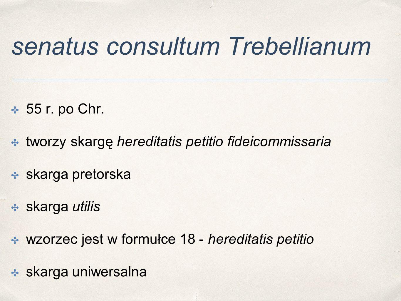 senatus consultum Trebellianum
