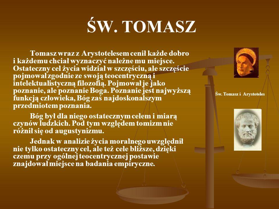 Św. Tomasz i Arystoteles