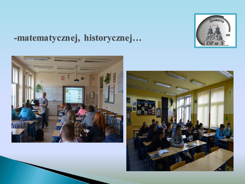-matematycznej, historycznej…