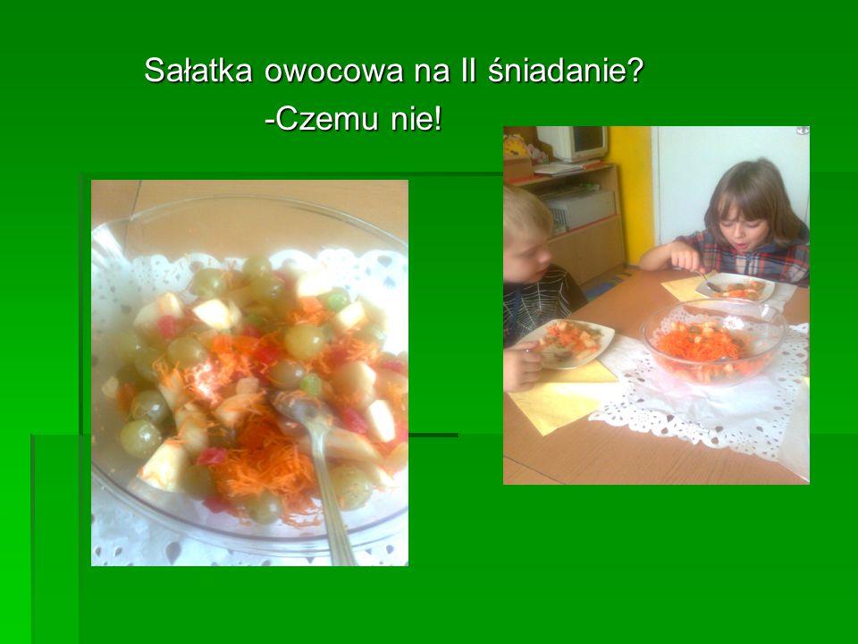 Sałatka owocowa na II śniadanie