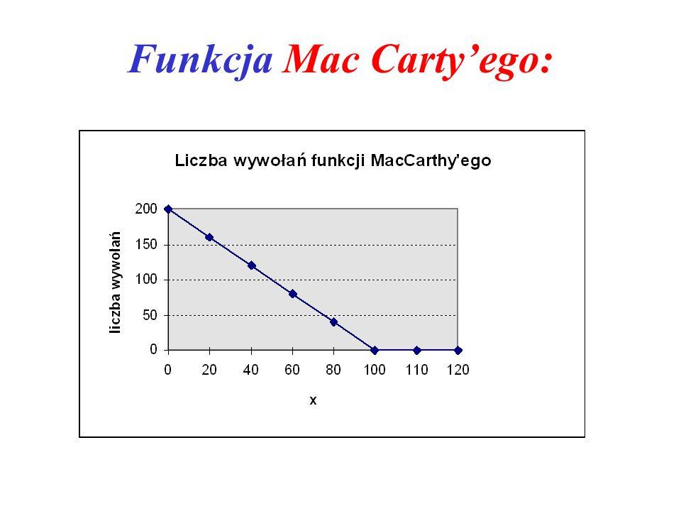 Funkcja Mac Carty'ego: