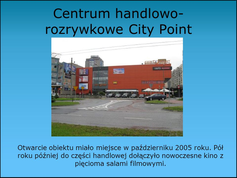 Centrum handlowo-rozrywkowe City Point