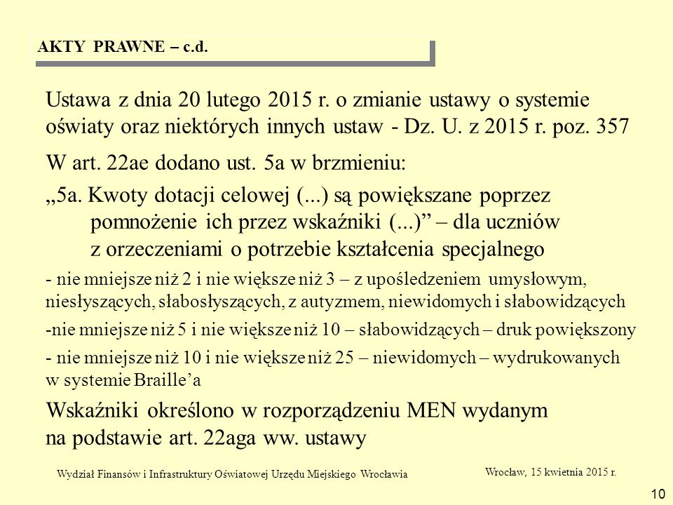 W art. 22ae dodano ust. 5a w brzmieniu:
