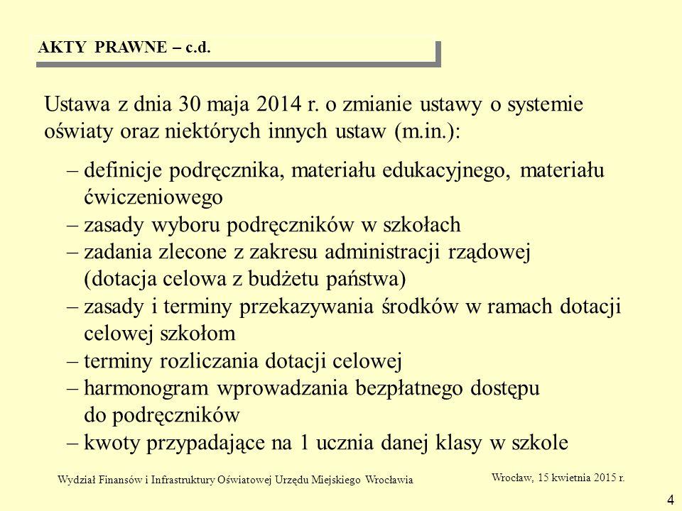 – zasady wyboru podręczników w szkołach