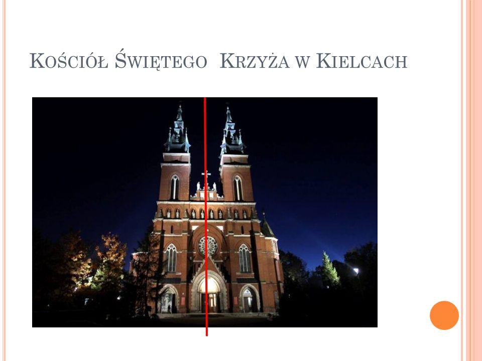 Kościół Świętego Krzyża w Kielcach
