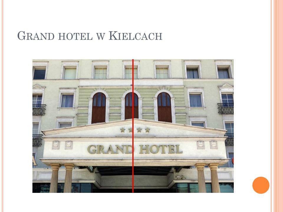 Grand hotel w Kielcach