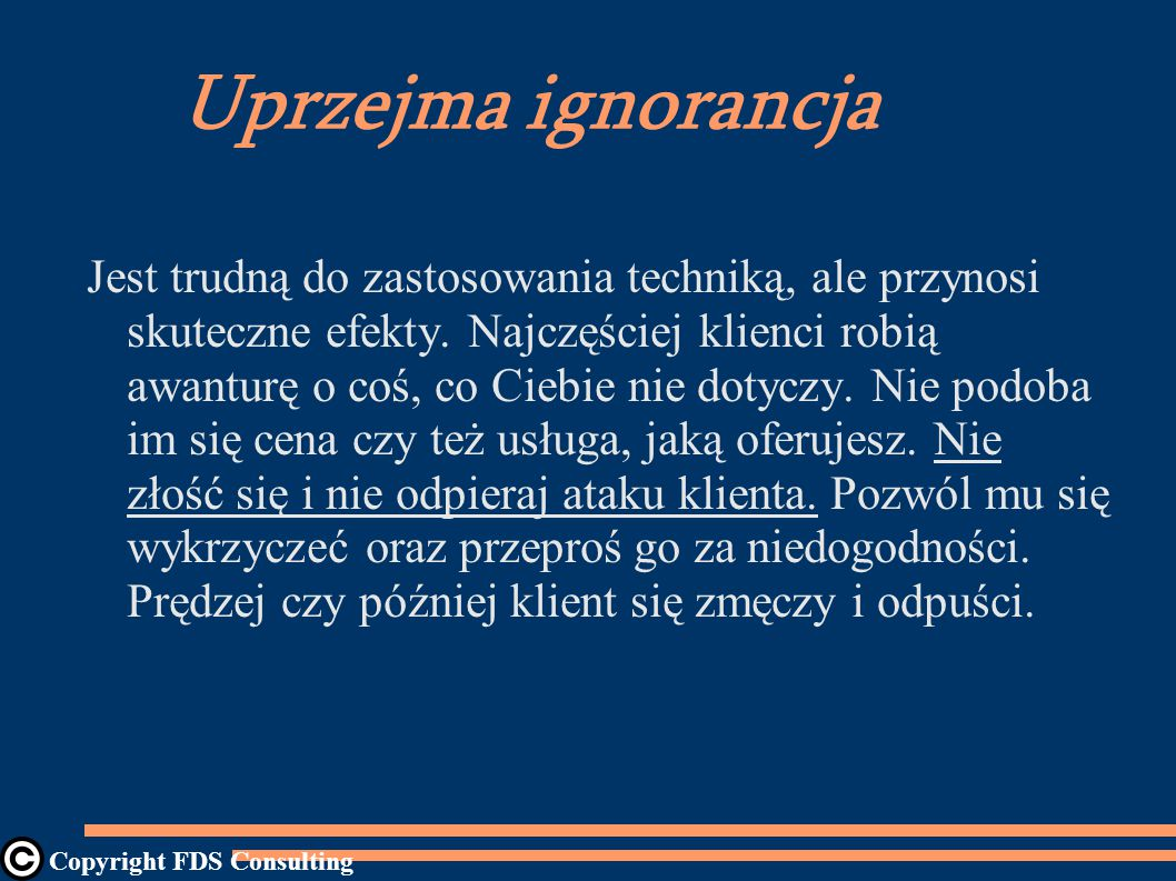 Uprzejma ignorancja