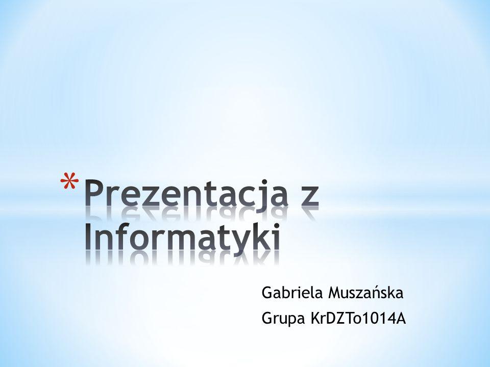 Prezentacja z Informatyki