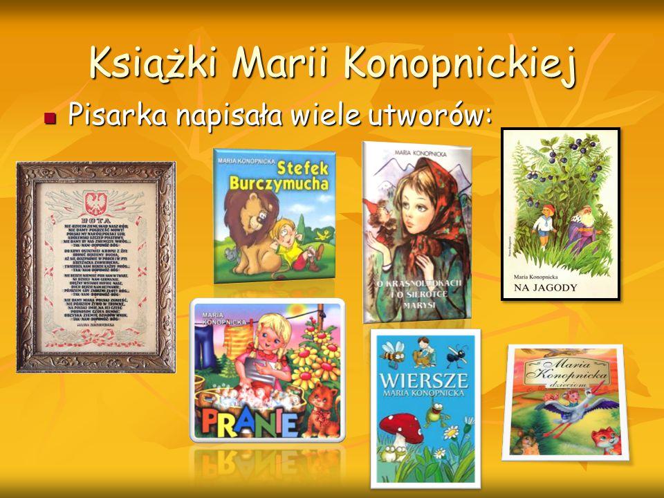Książki Marii Konopnickiej