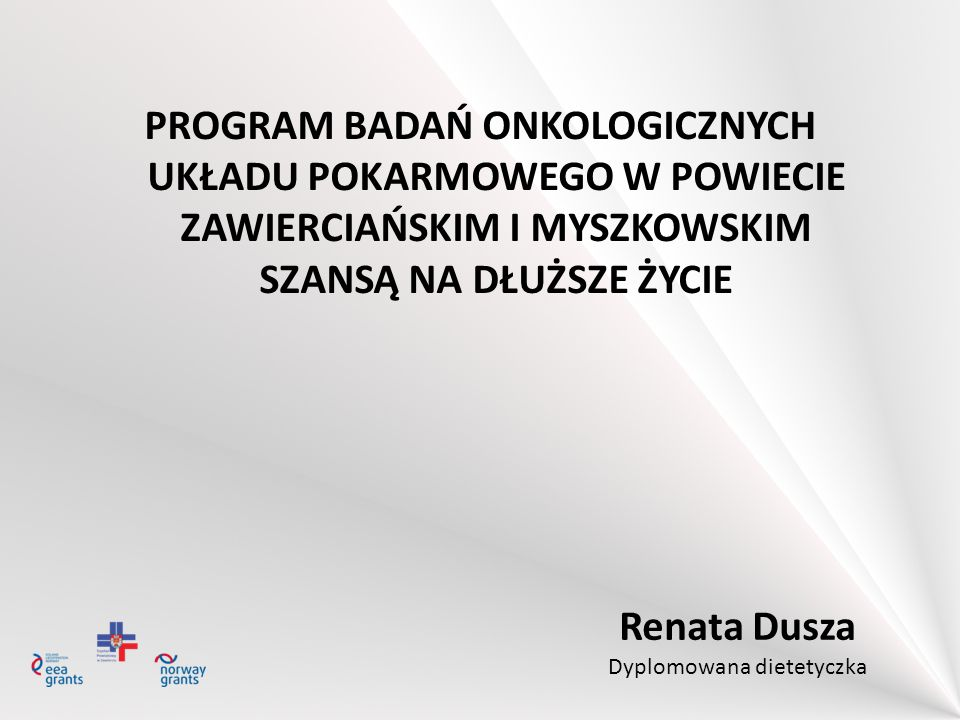 Renata Dusza Dyplomowana dietetyczka