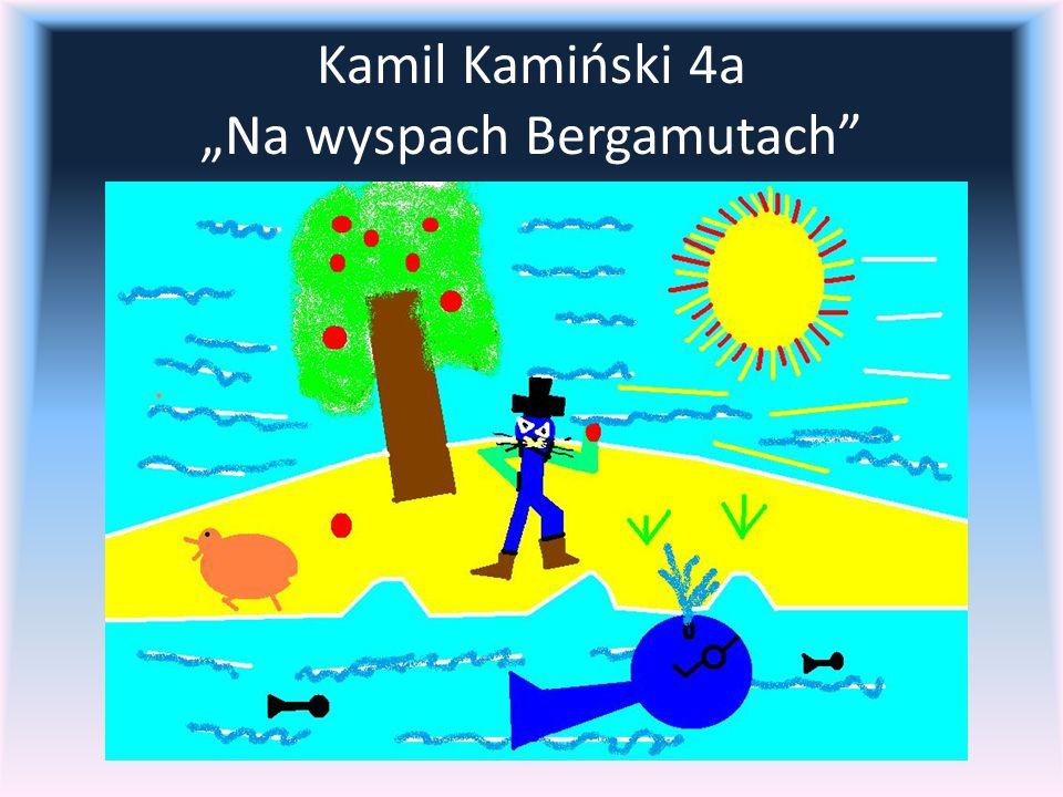 """Kamil Kamiński 4a """"Na wyspach Bergamutach"""