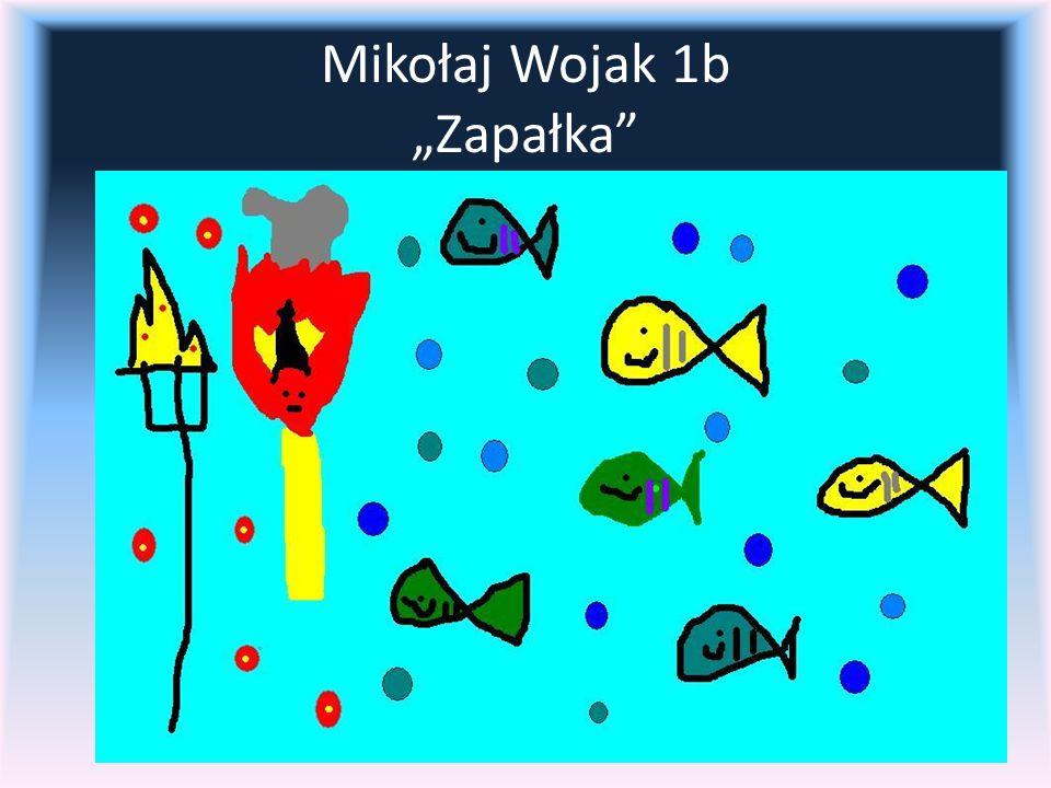 """Mikołaj Wojak 1b """"Zapałka"""