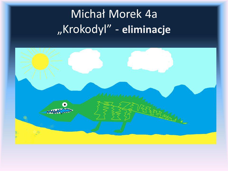 "Michał Morek 4a ""Krokodyl - eliminacje"