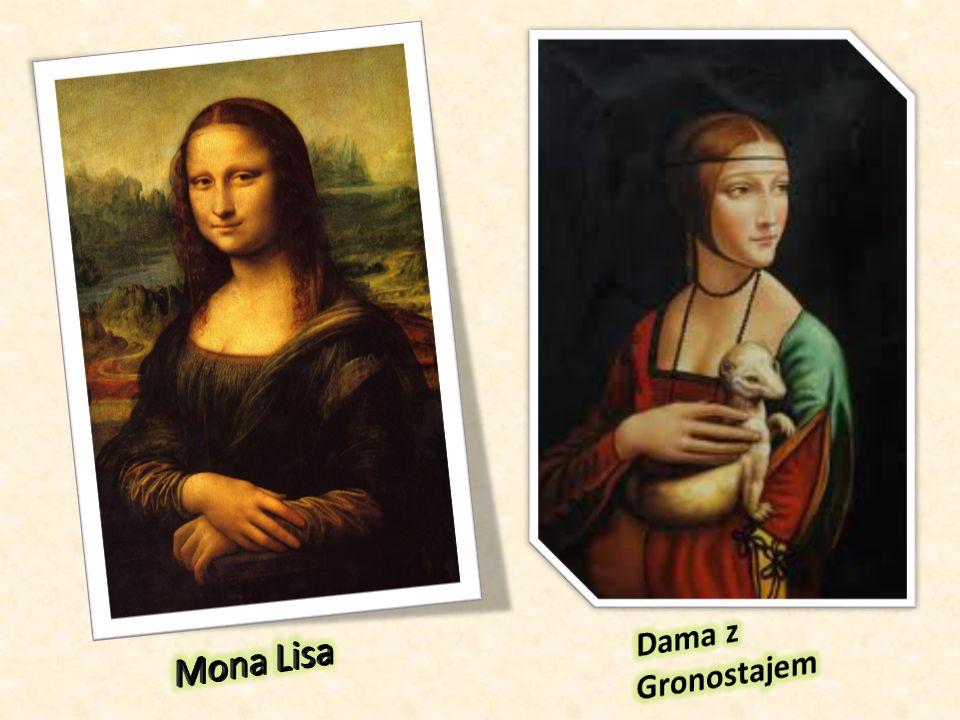 Dama z Gronostajem Mona Lisa