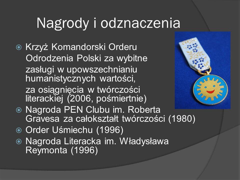 Nagrody i odznaczenia Krzyż Komandorski Orderu