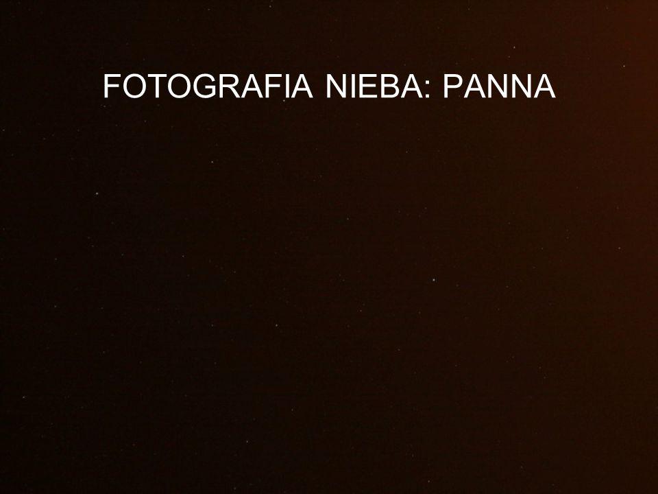 FOTOGRAFIA NIEBA: PANNA