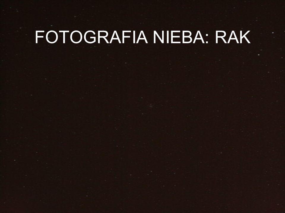 FOTOGRAFIA NIEBA: RAK