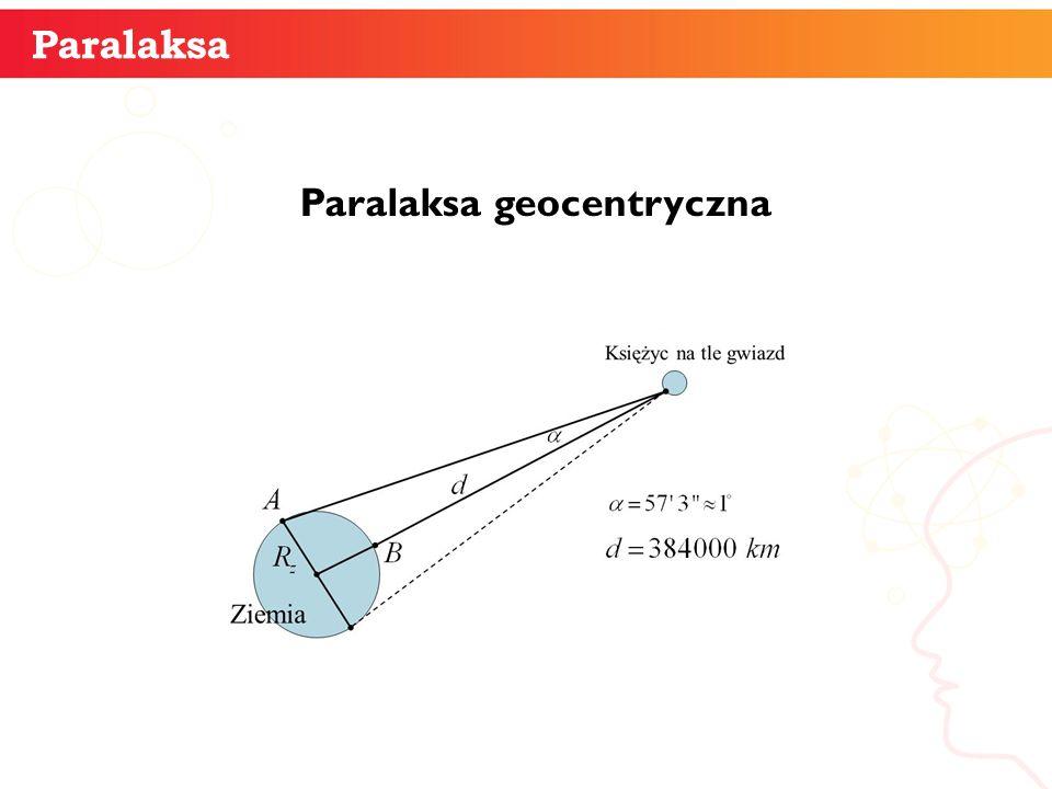 Paralaksa geocentryczna