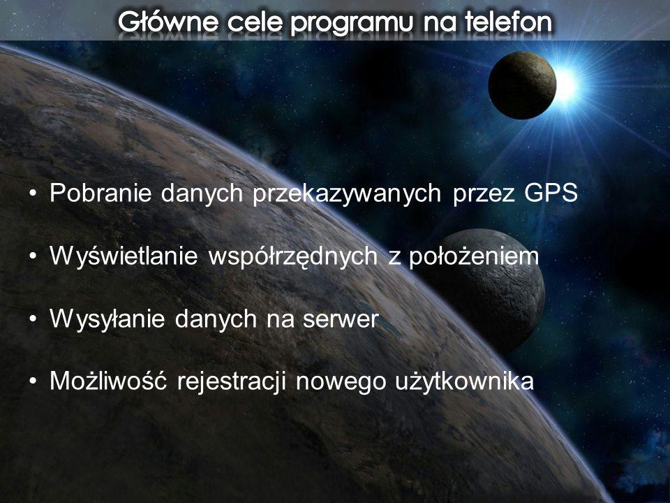 Główne cele programu na telefon
