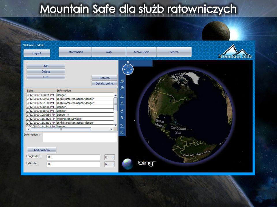 Mountain Safe dla służb ratowniczych
