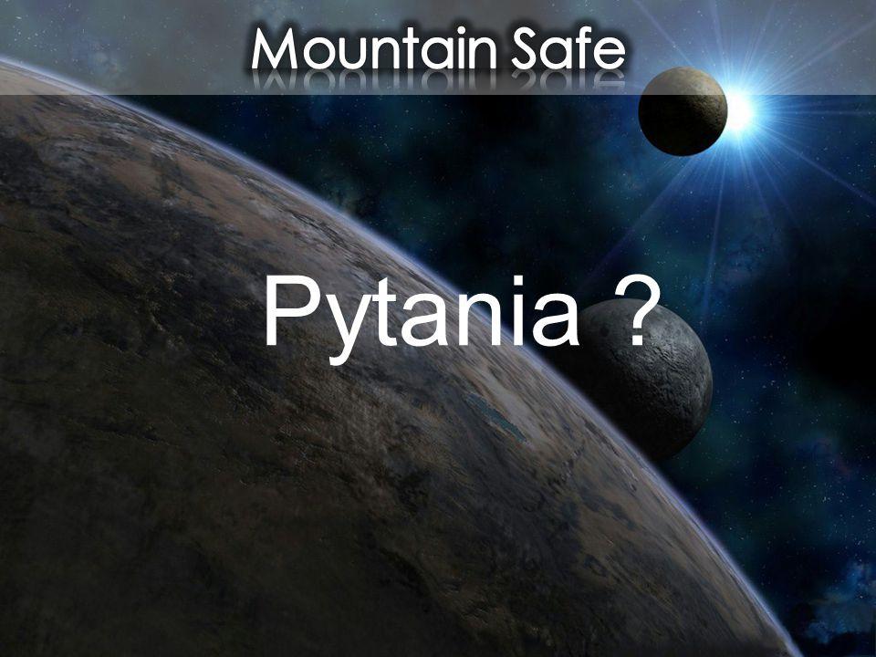 Mountain Safe Pytania