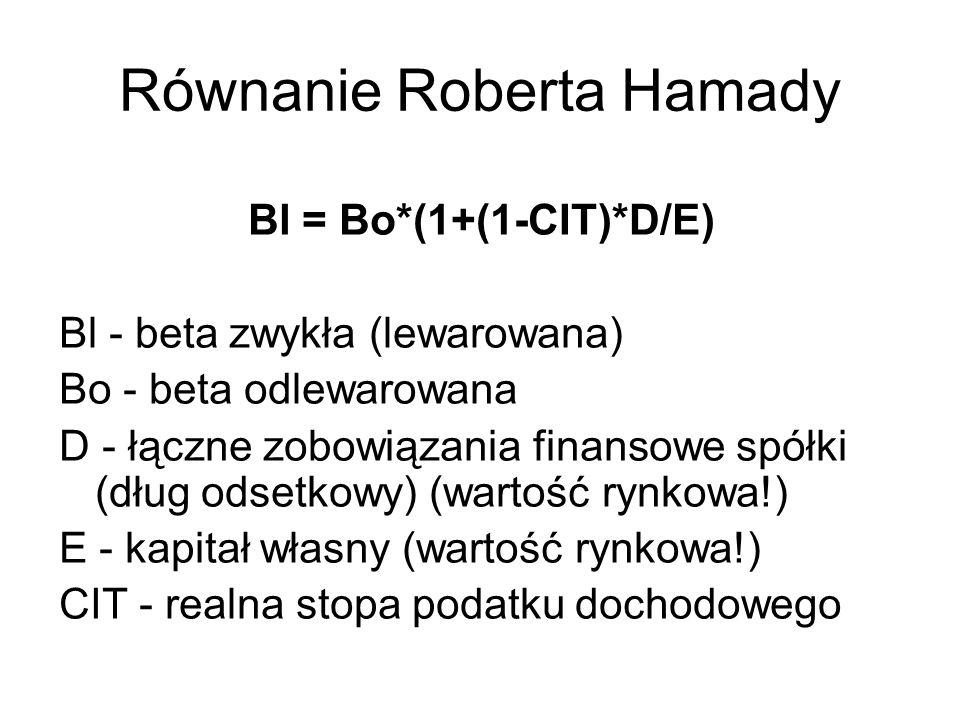 Równanie Roberta Hamady
