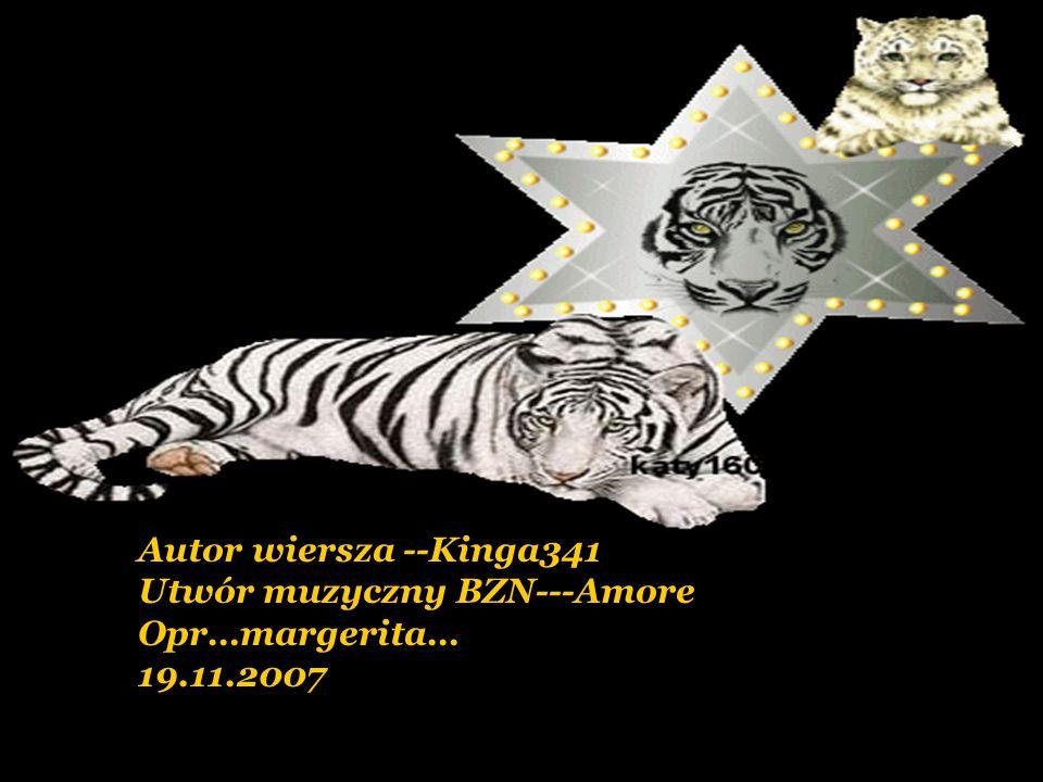 Autor wiersza --Kinga341 Utwór muzyczny BZN---Amore Opr…margerita… 19.11.2007