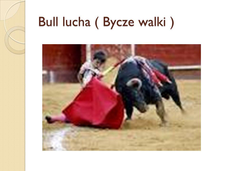 Bull lucha ( Bycze walki )