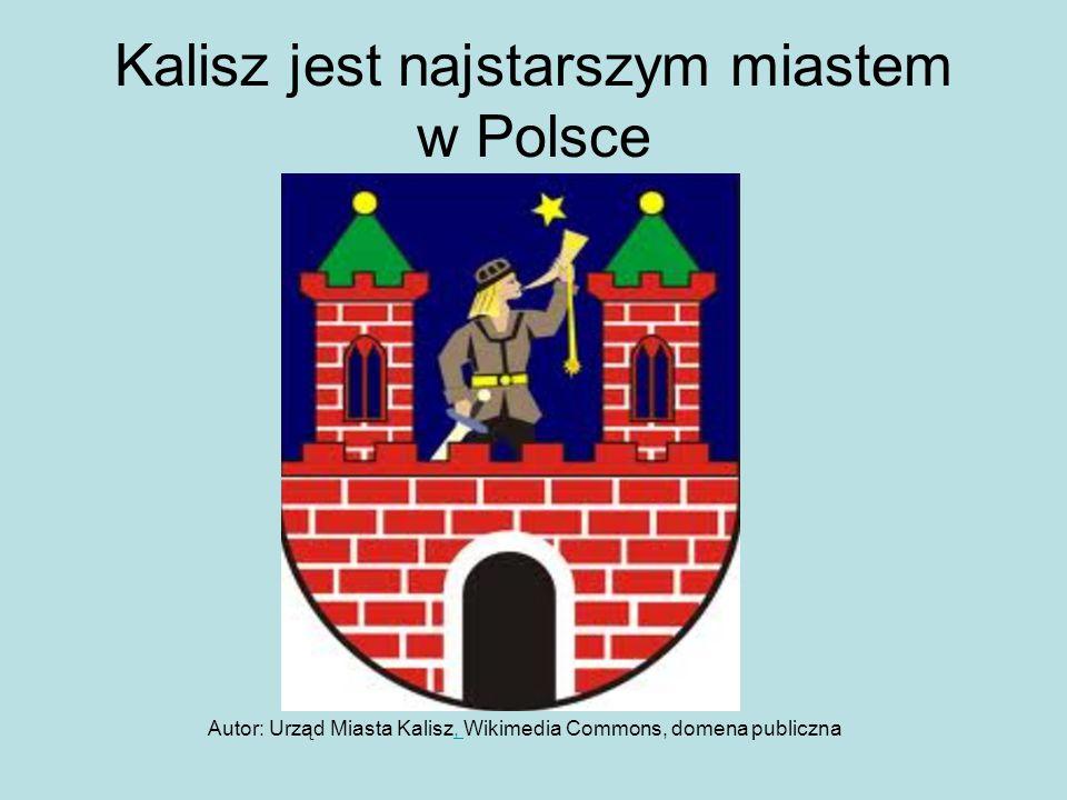 Kalisz jest najstarszym miastem w Polsce