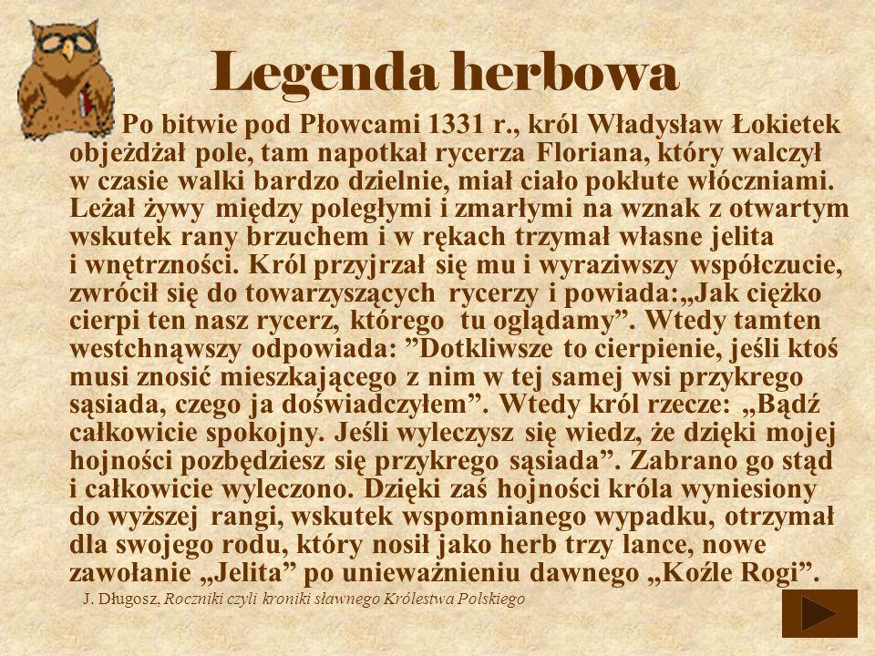 Legenda herbowa