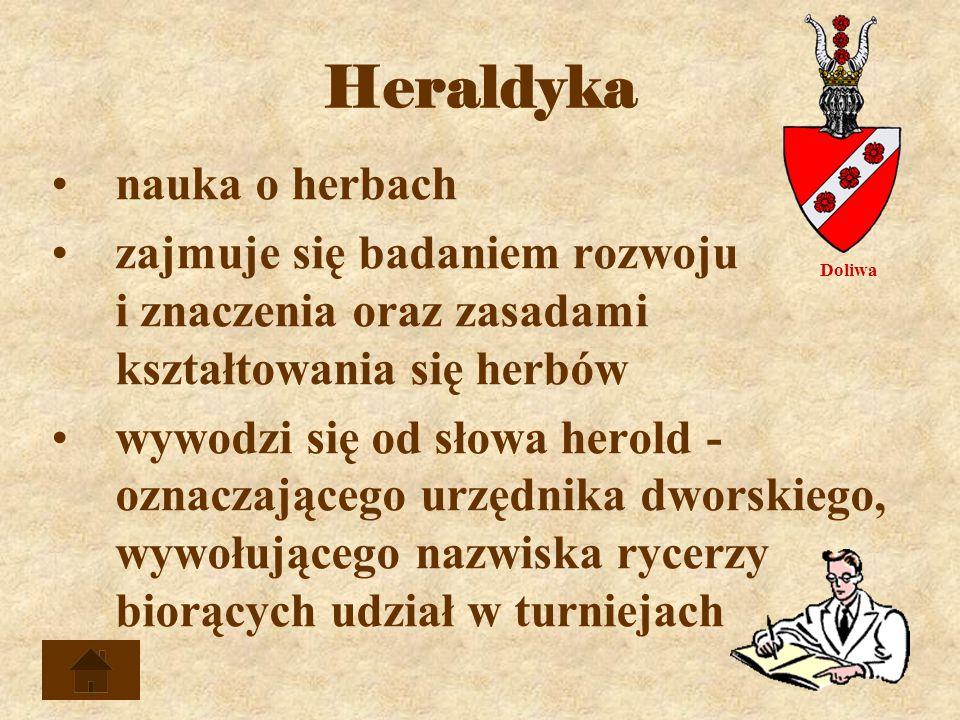 Heraldyka nauka o herbach