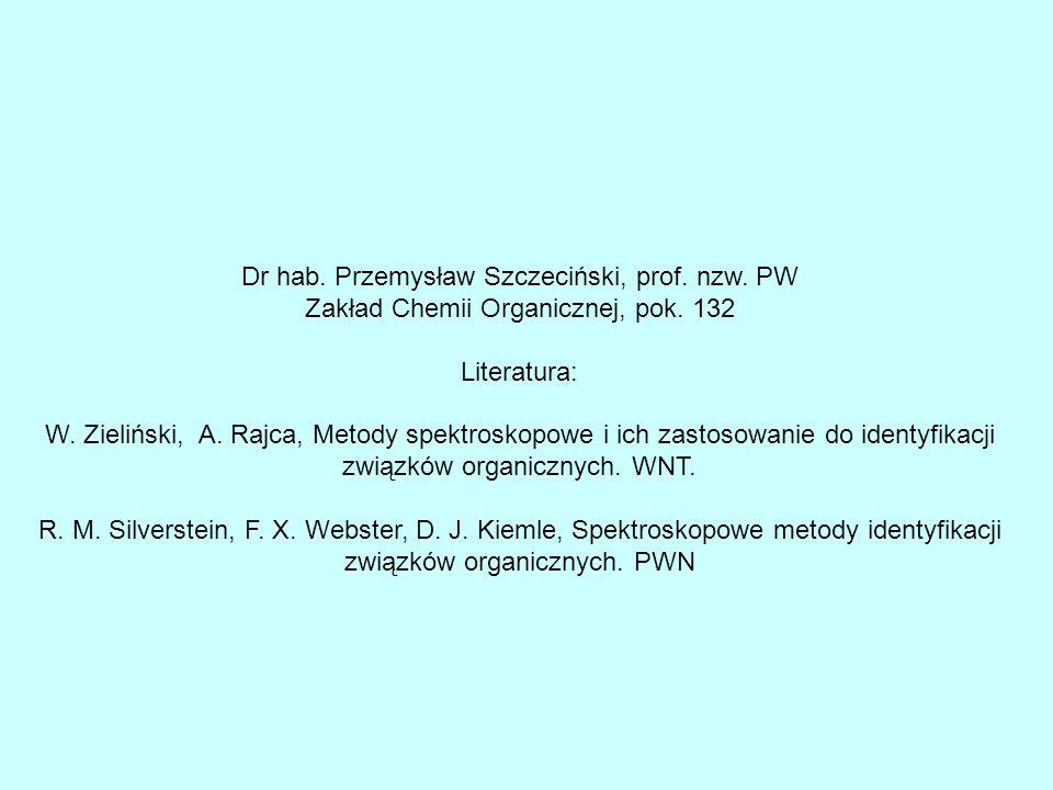 Dr hab. Przemysław Szczeciński, prof. nzw. PW