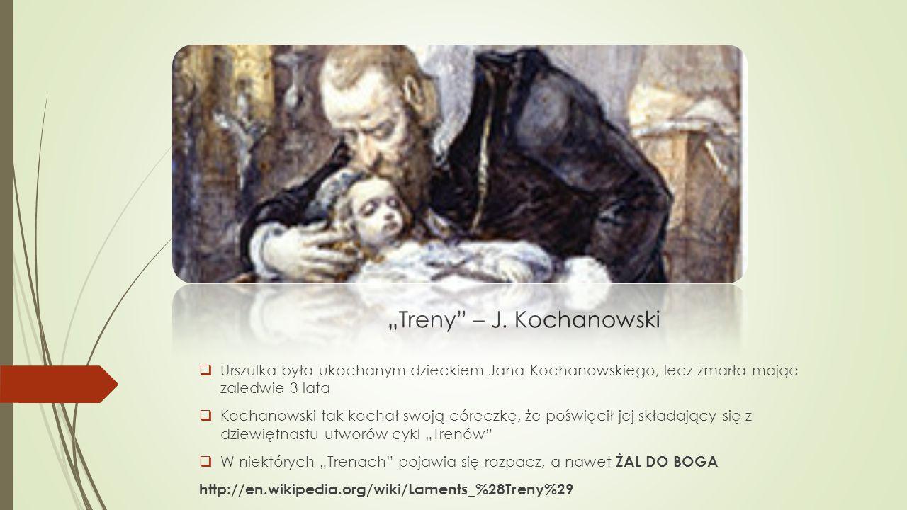 """""""Treny – J. Kochanowski"""