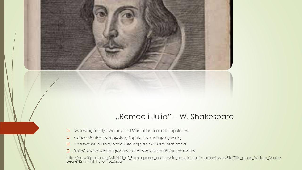 """Romeo i Julia – W. Shakespare"