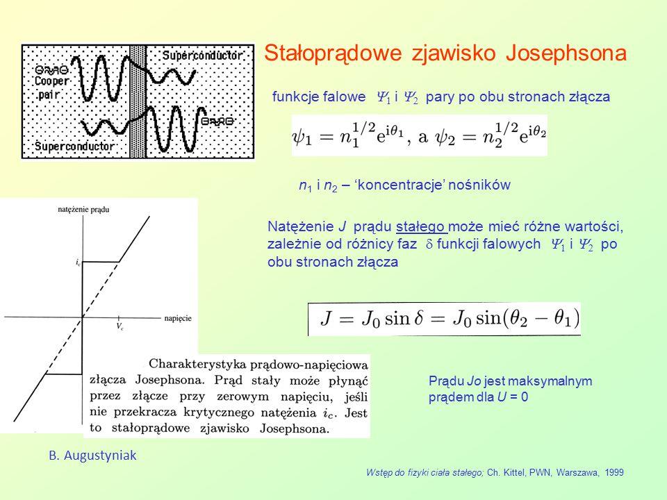 Stałoprądowe zjawisko Josephsona