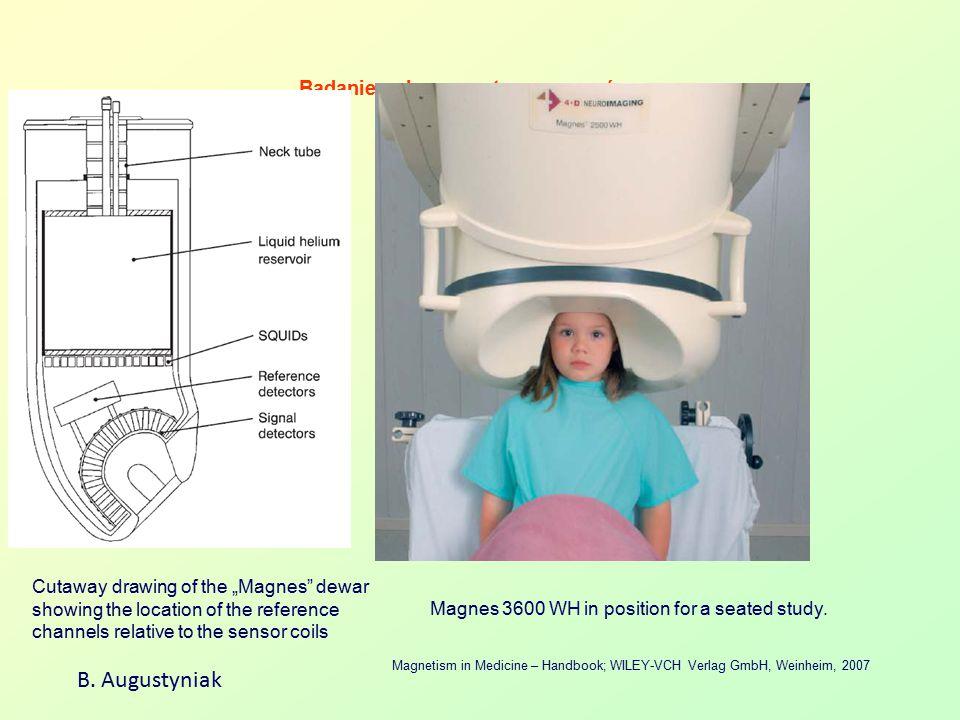 Badanie pola magnetycznego mózgu