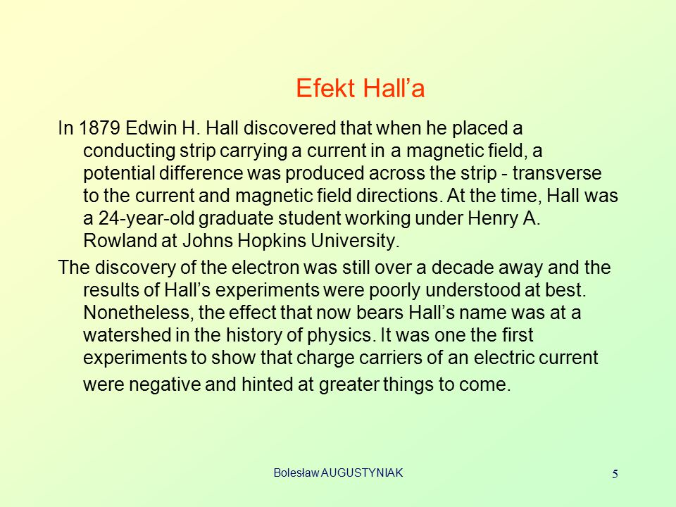 Efekt Hall'a