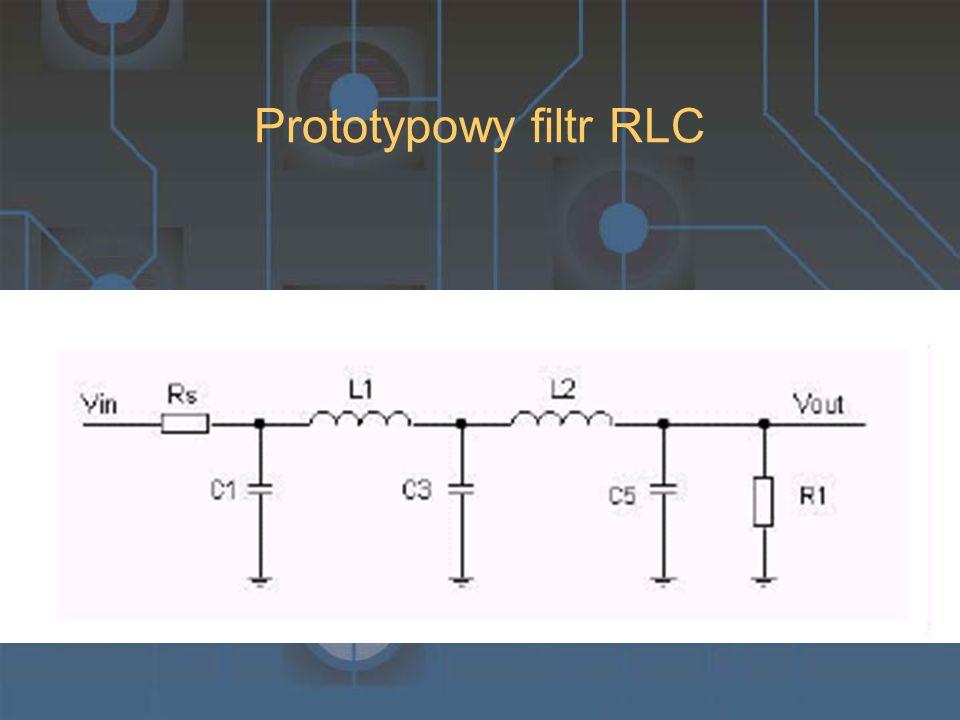 Prototypowy filtr RLC