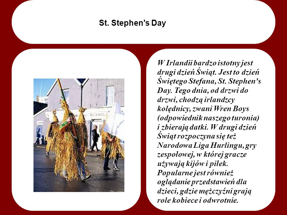 St. Stephen s Day