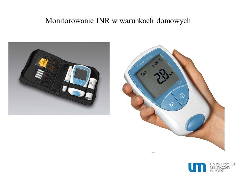Monitorowanie INR w warunkach domowych
