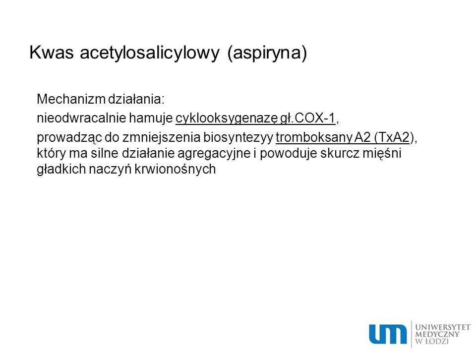 Kwas acetylosalicylowy (aspiryna)
