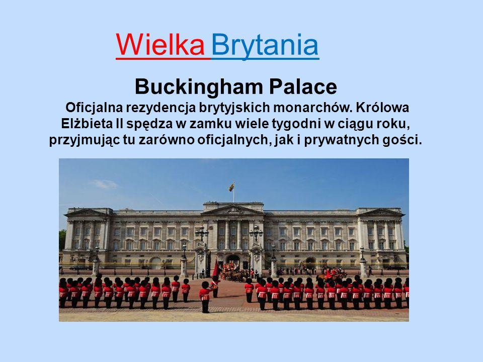 Wielka Brytania Buckingham Palace