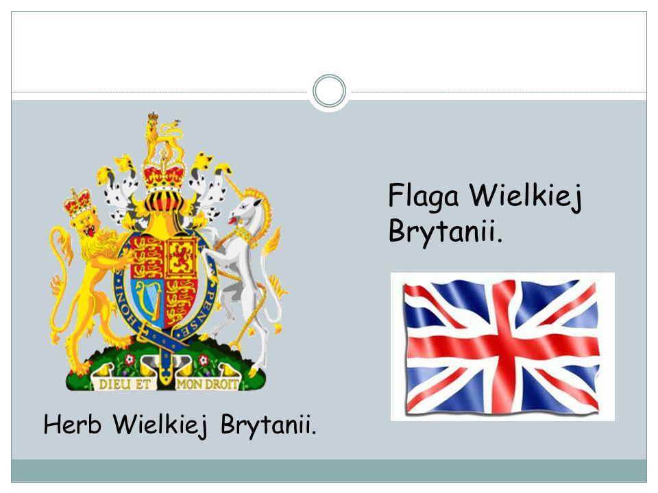Flaga Wielkiej Brytanii.
