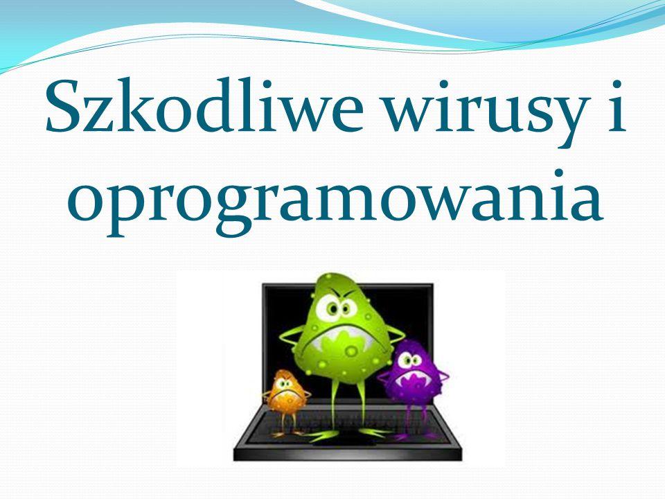 Szkodliwe wirusy i oprogramowania