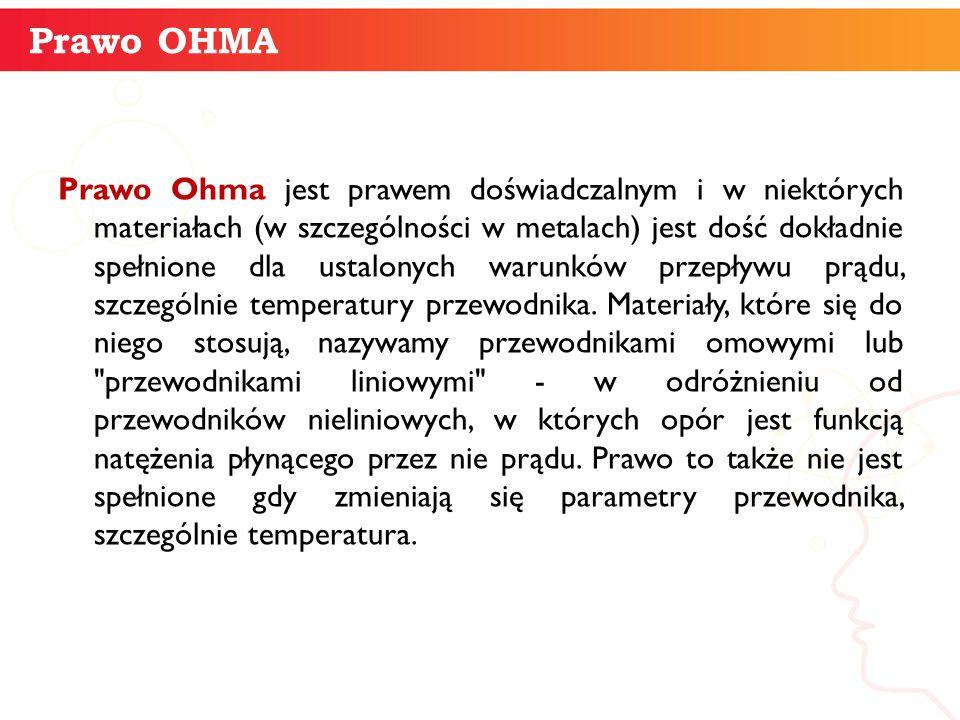 Prawo OHMA informatyka +