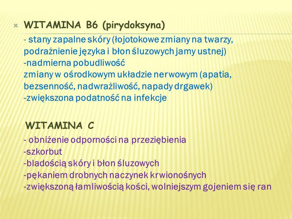 WITAMINA B6 (pirydoksyna)