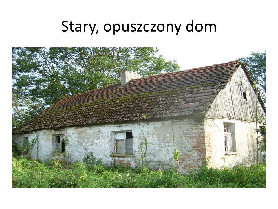 Stary, opuszczony dom